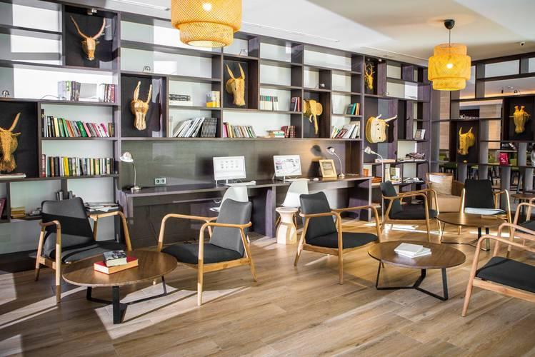 Biblioteque Hôtel Cap Negret Altea, Alicante