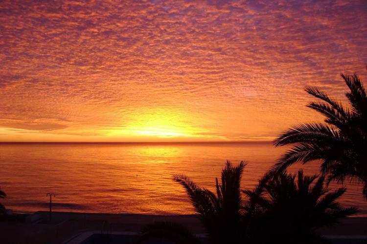 Le coucher du soleil hôtel cap negret altea, alicante