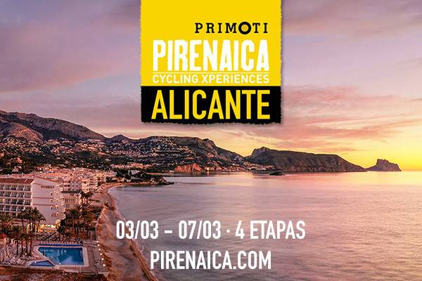 Pirenaica cycling experinece hôtel cap negret altea, alicante