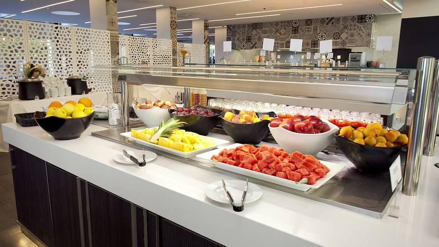 Petit-déjeuner buffet Hôtel Cap Negret Altea, Alicante