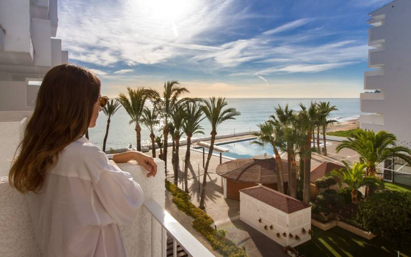 Terrasse Hôtel Cap Negret Altea, Alicante