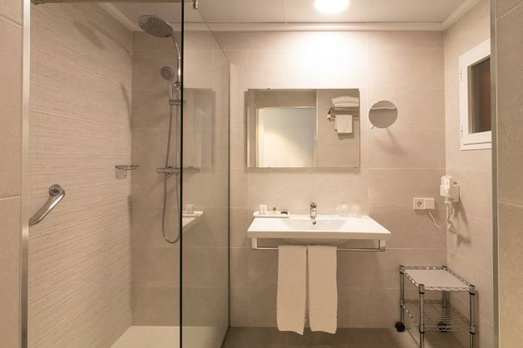 Salle de bains Hôtel Cap Negret Altea, Alicante