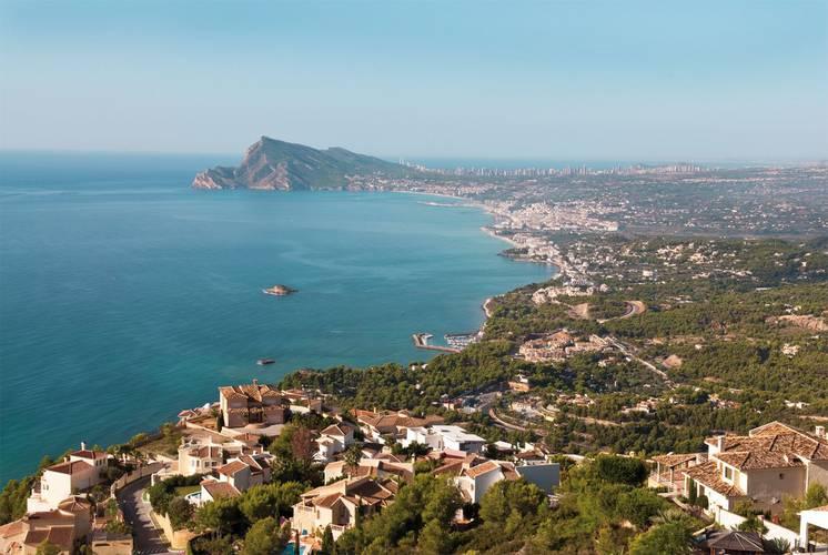 Vue panoramique Hôtel Cap Negret Altea, Alicante