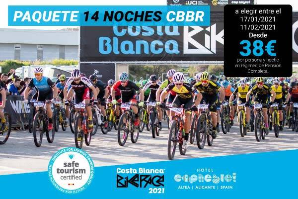 Costa blanca bike race 14 nights hôtel cap negret altea, alicante